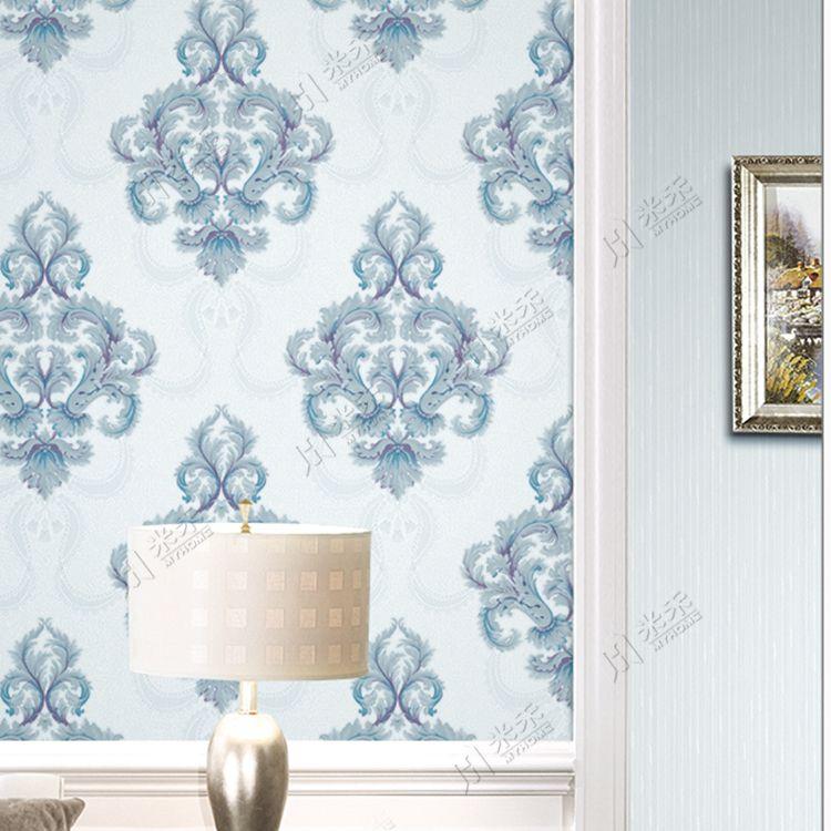 Italian Style Classic Wallpaper Luxury Flower Deep Embossed For Home  Decoration Also European Washable Pvc Rh