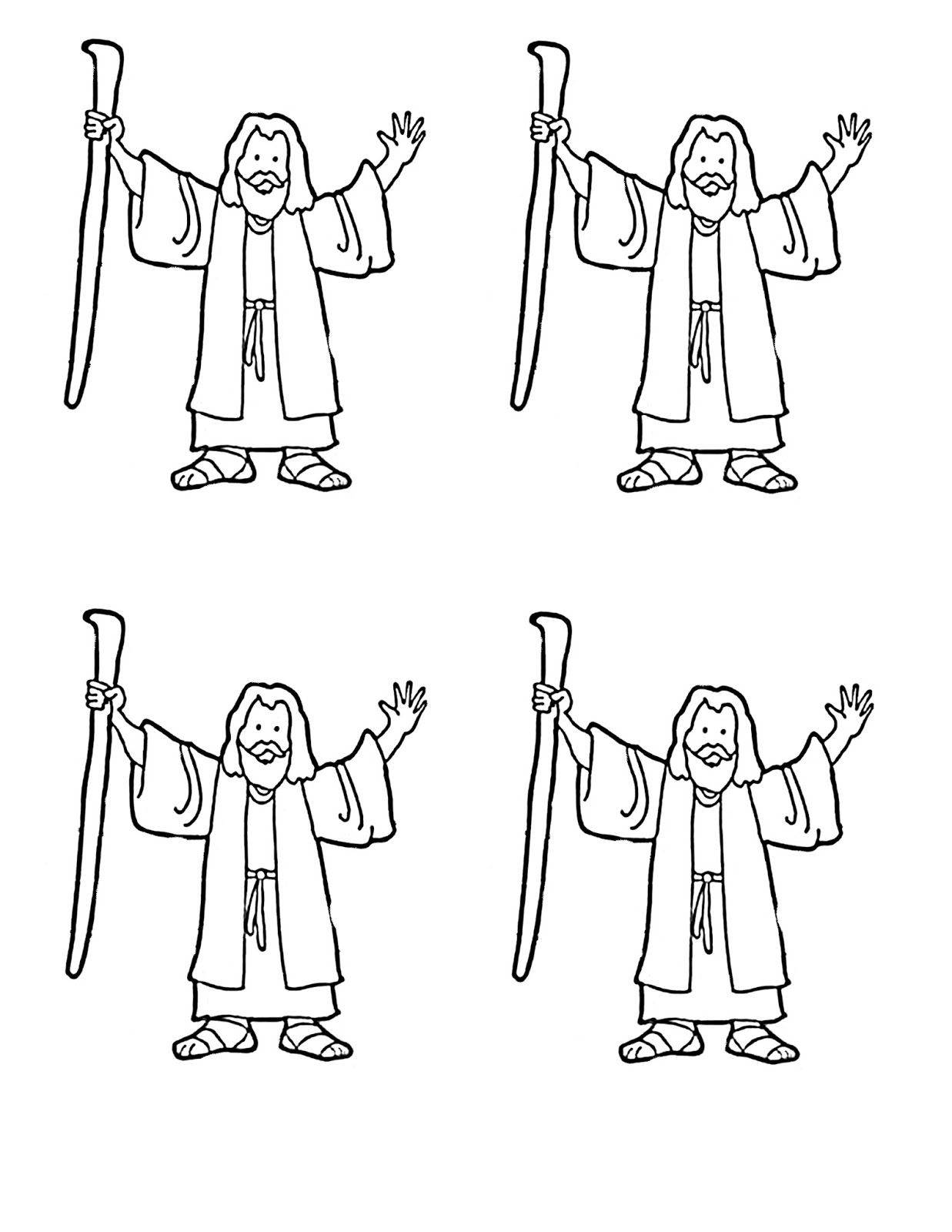 The Bible Israelites Leaving Egypt Coloring Pages Sketch