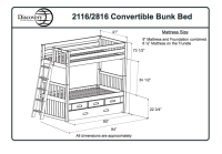 Bunk+Bed+Specifications | Dimensions | New house ideas ...