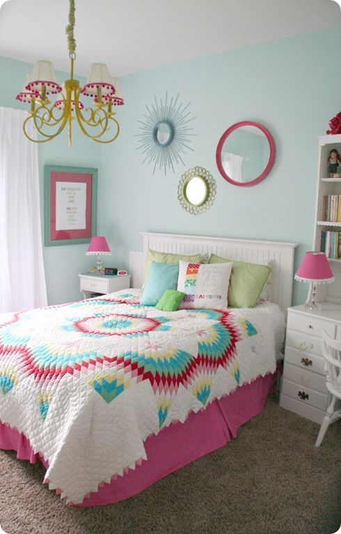 Colorful teen girls bedroom also best images about cute girl bedrooms on pinterest pastel rh