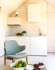 Casa transportable house by abaton that fits on the back of  lorry and moved road with cement board walls hinged panels also aph interior spaces pinterest rh