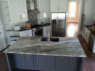 kitchen granite fantasy brown quartzite countertops island countertop stone bathroom backsplash kitchens counter ecstatic installed cabinets columbia sc quartz slab