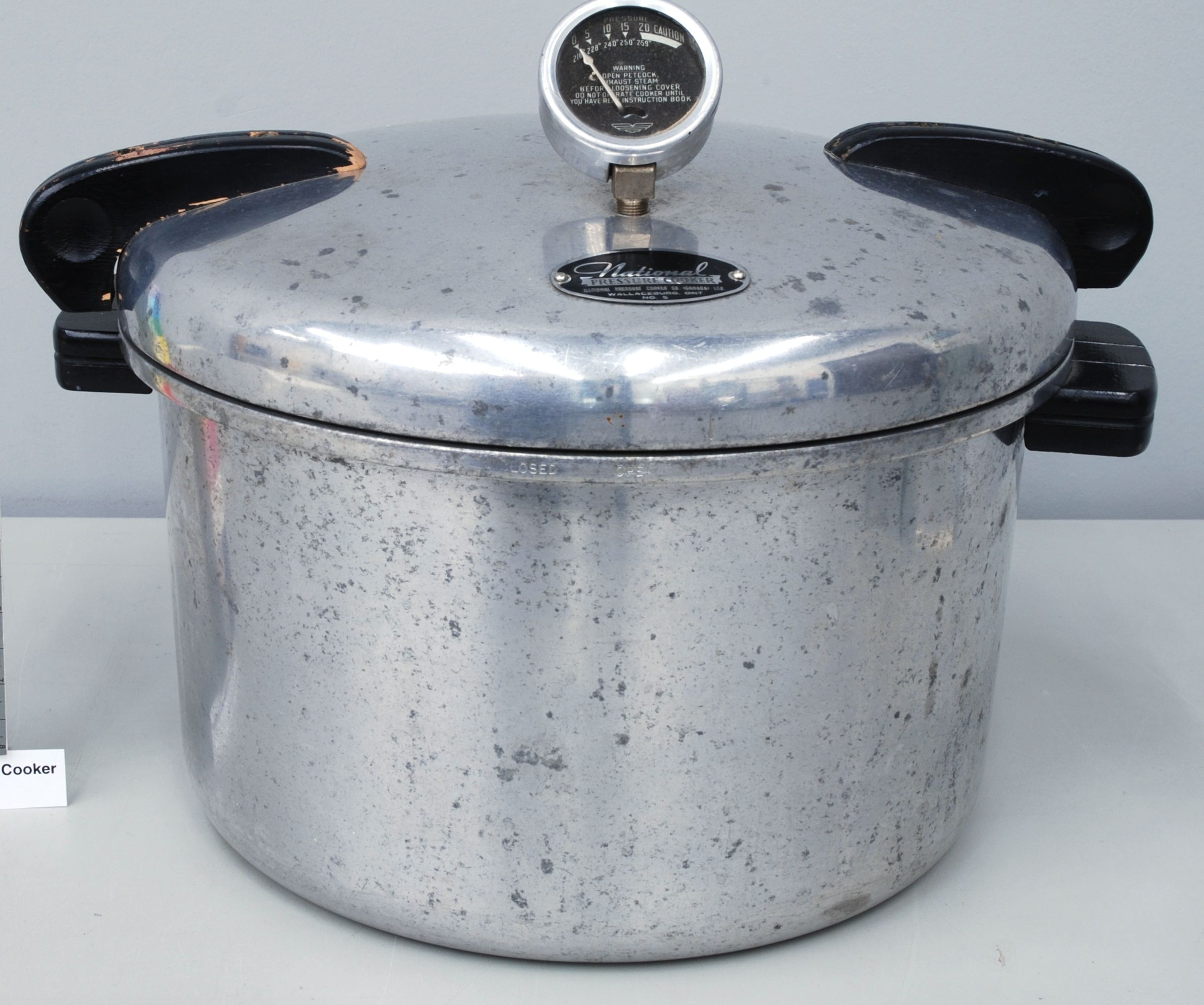 Old Style Pressure Cooker