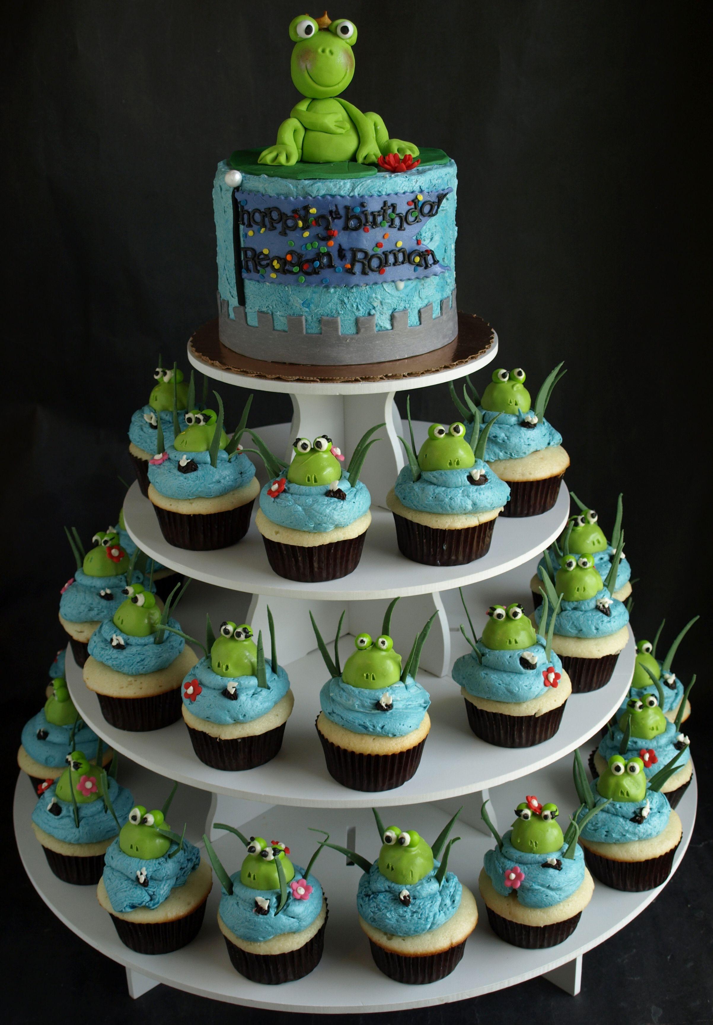 Cupcake Cake Designs For Teenage Girls