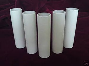 Chandelier Candle Covers White Card 65mm X 24mm