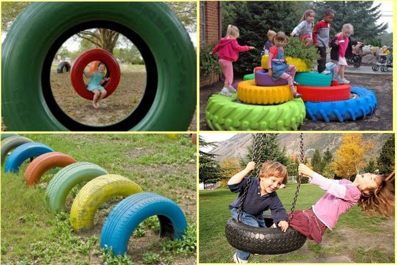 Charming DIY Ideas How To Reuse Old Tires Creative Olds And