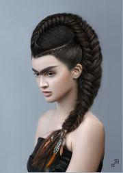 hair color avant garde