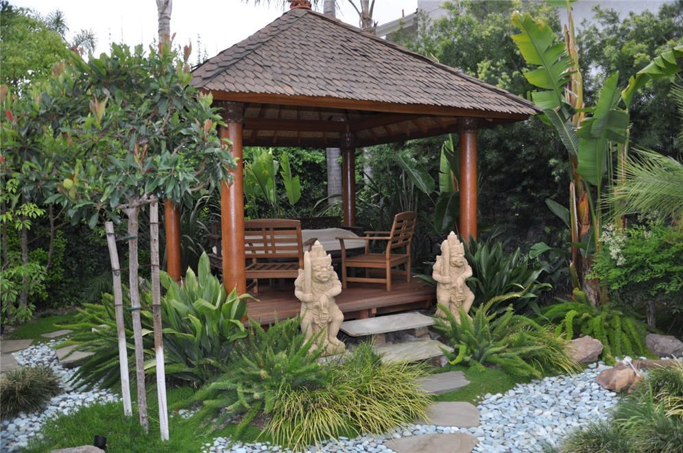 Balinese Gazebo Pergola Outdoor Living Pinterest Bali