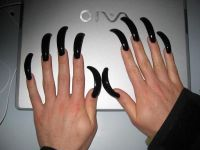Extra Long Nails | Long Nails | Pinterest | Long acrylic ...