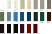 interior paint colors | Clad Jambs available in these ...