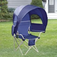 Camp Chair With Canopy