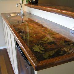 Epoxy Resin Kitchen Countertops Island Marble Top Custom Countertop  Pinteres