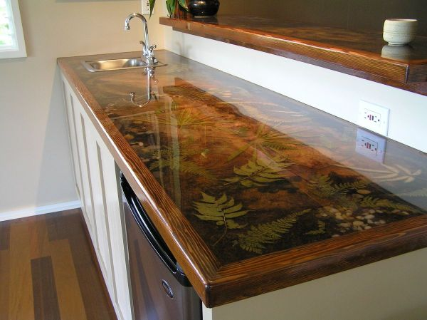 Epoxy Resin Wood Countertops Year Of Clean Water