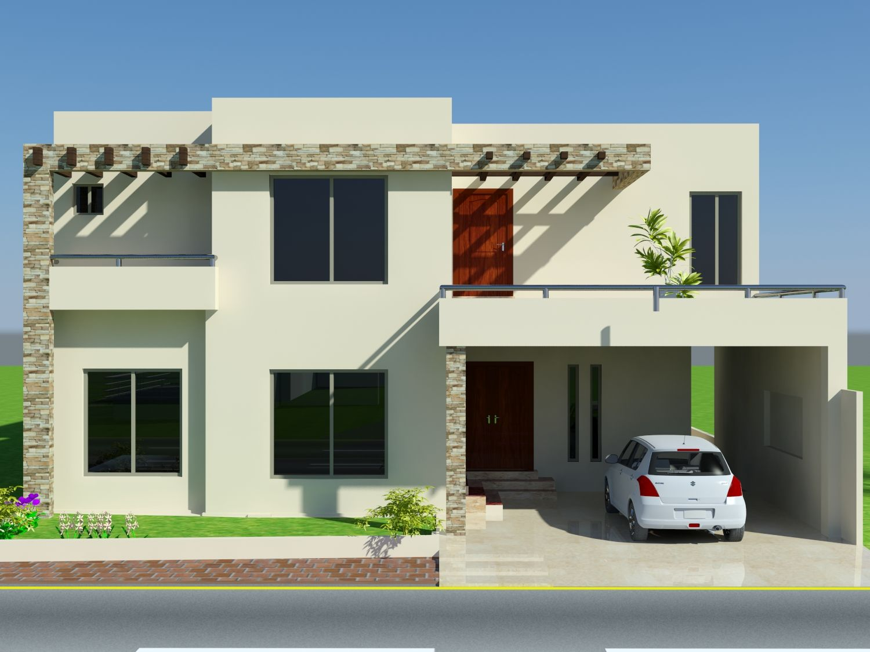 Front House Design Mian Wali Pakistan Home Elevation Marla Ideas