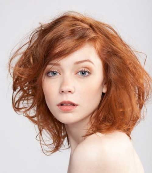 Short Ginger Bob Hair For Girls 500×566 Pixels Hair Cut