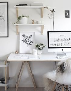 Beautiful workspace design image  styling by the chaser also rh pinterest