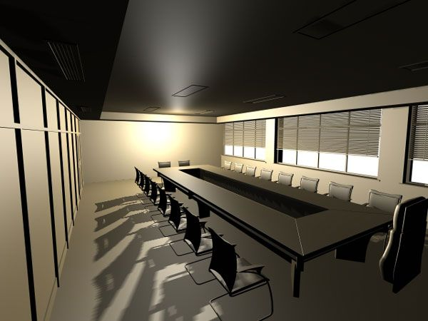 Office conference room 3ds 3D Studio Max  Diseos