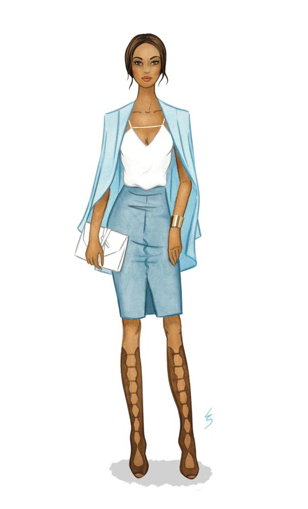 Fashion Illustration Croquis