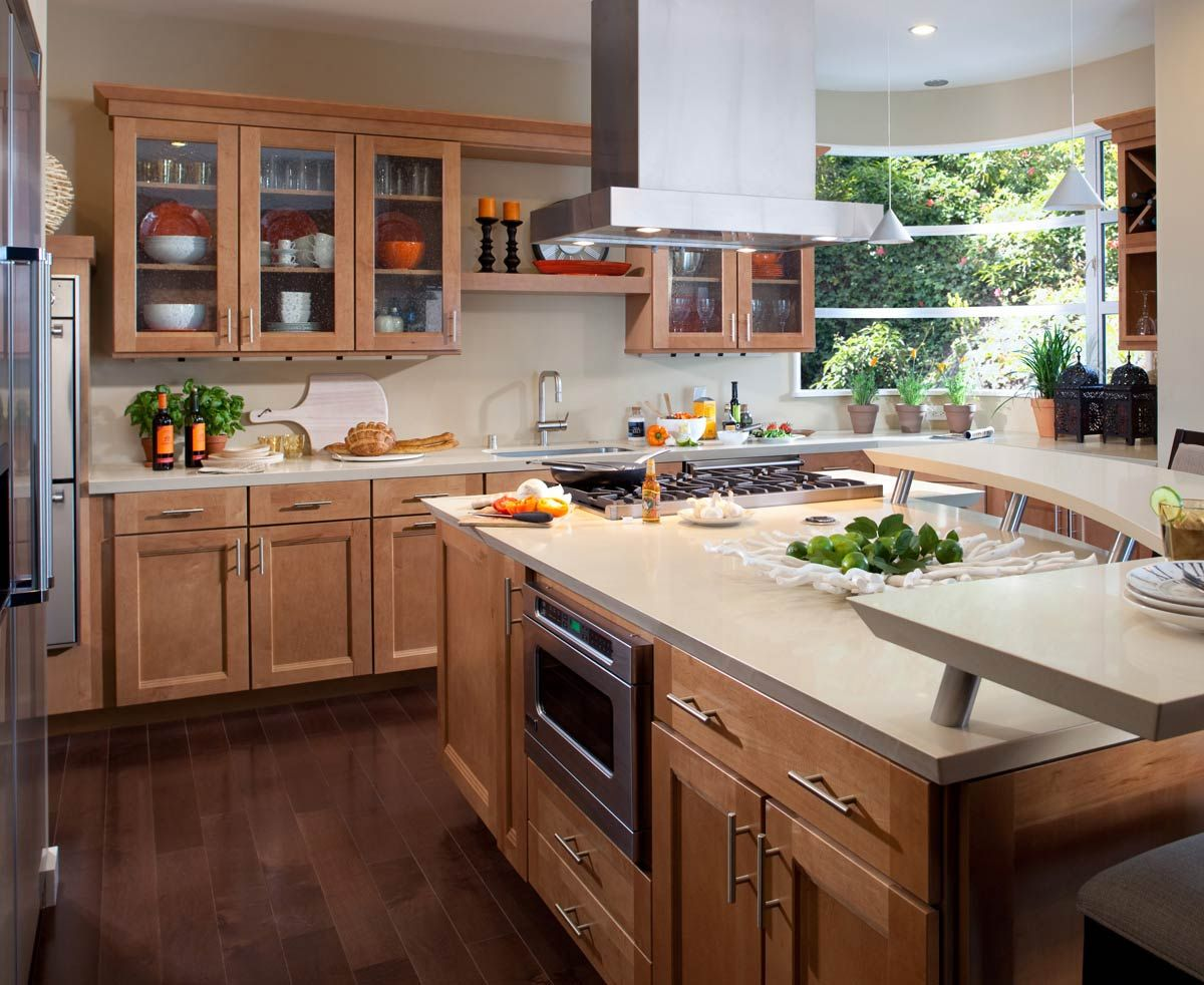 waypoint kitchen cabinets blonde living spaces style 420t in maple spice