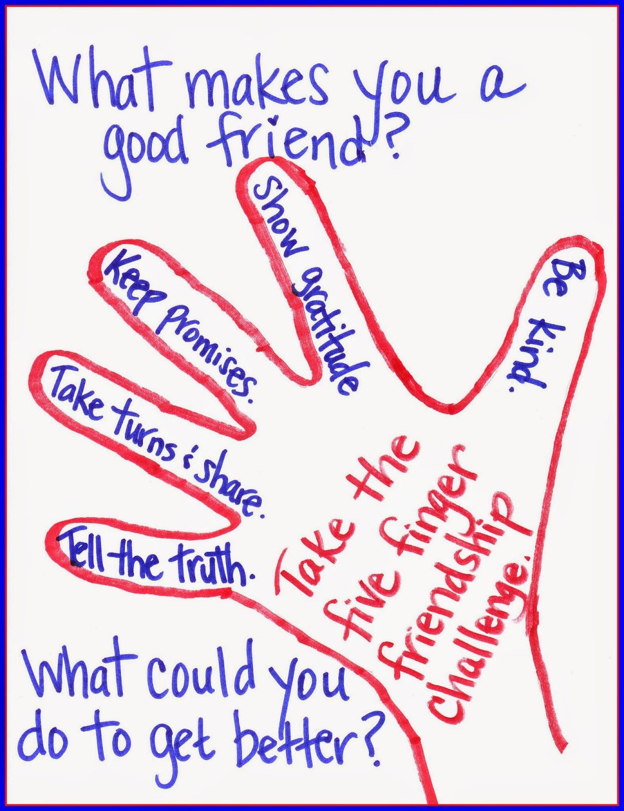 How Do You Help Put Healthy Friendships In Their Hands