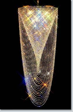 Missy Owned The Most Amazing Crystal Chandelier In Her Foyer Spiral Swirl