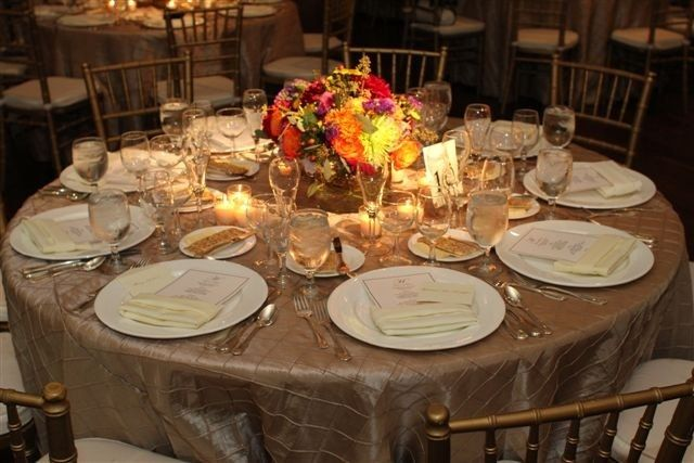 Fall Wedding Rehearsal Dinner Ideas