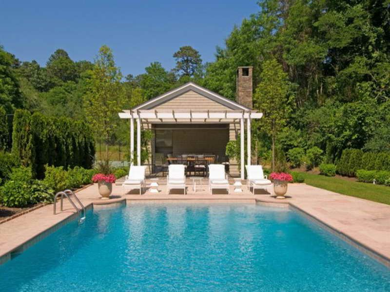 Small Pool Cabana With Bath Google Search Outdoor Living