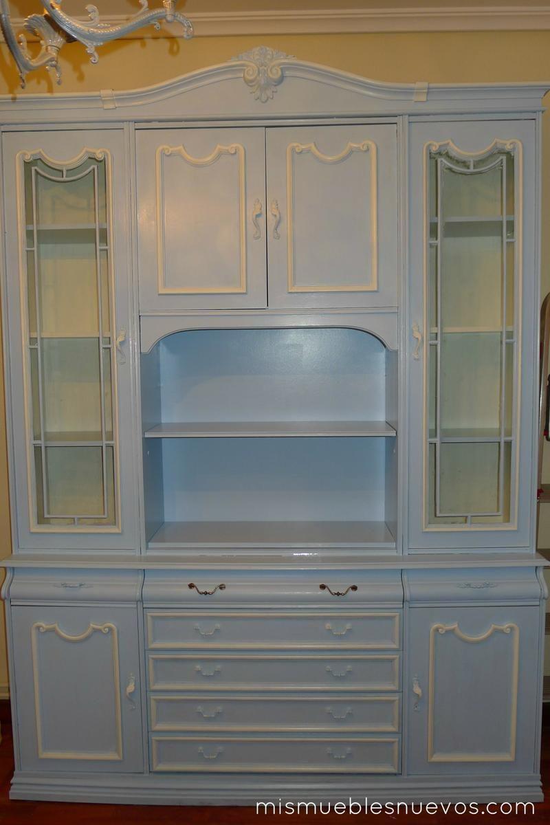 Mueble Comedor Pintado Blanco