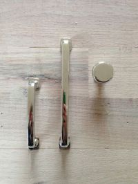 Affordable polished nickel cabinet hardware