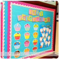 A Cupcake for the Teacher: My Classroom! My Classroom