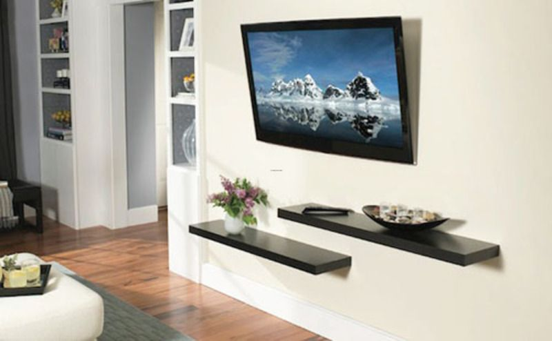 18 Chic And Modern TV Wall Mount Ideas For Living Room Wall
