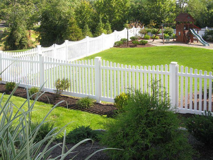 The 25 best White vinyl fence ideas on Pinterest  White