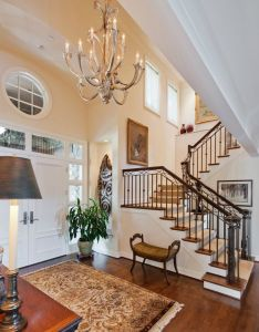 Beautiful entryway also houses inside and out pinterest staircases rh za