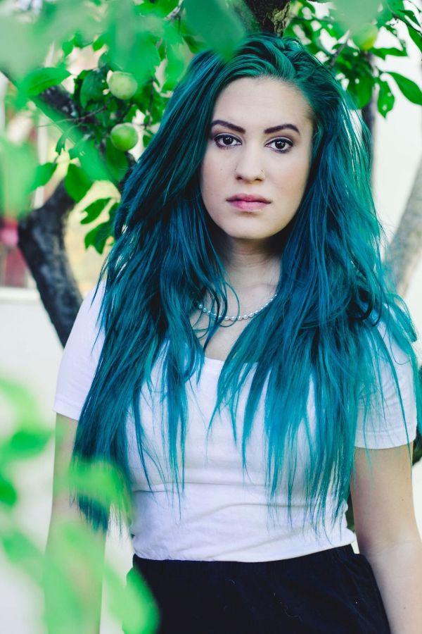 Teal blue pastel hair Hair Pinterest Pastel hair