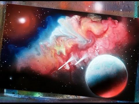 Spray Paint Art Secrets How To Galaxies Nebulas Aurora Mo
