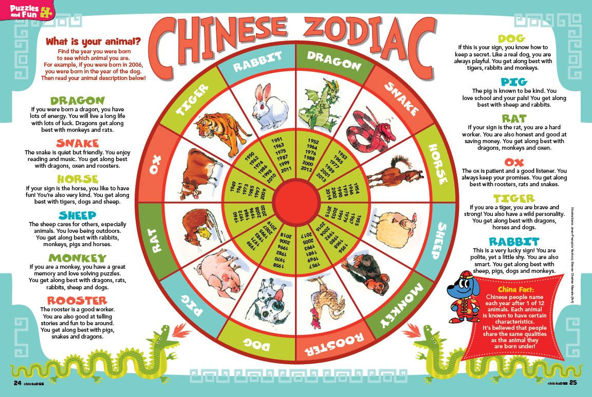 Chinese New Year Animals Meaning