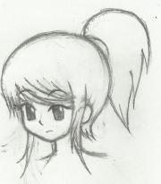 deviantart ponytail