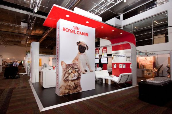 Royal Canin Exhibition Stand Designed And Constructed