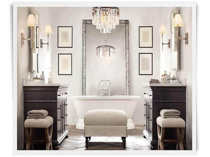 restoration+hardware+bathrooms | modern bathroom vanities
