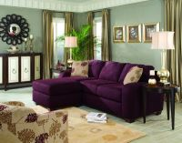 Purple Sofa on Pinterest | Purple Furniture, Purple ...