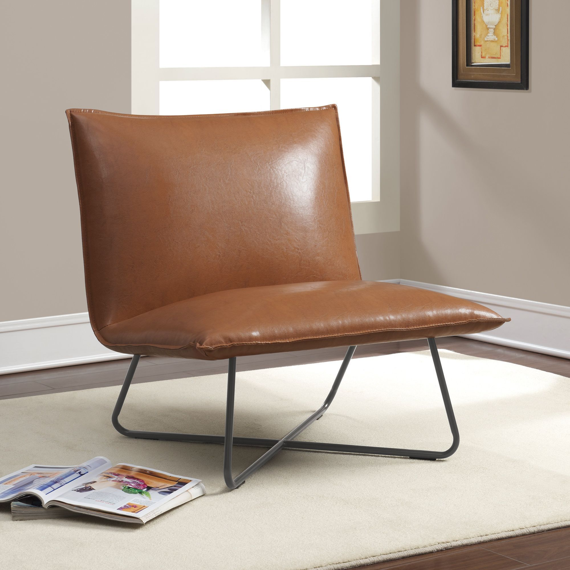 Pillow Chairs Saddle Brown Pillow Lounge Chair By I Love Living Powder