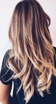 pretty hair. highlights. ombre