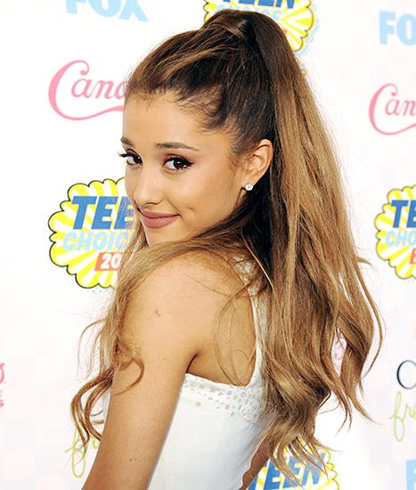 Breaking Free Of The Ponytail! See Ariana Grande's Laid Back
