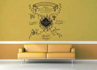 Marauder's Map - Harry Potter - Wall Decal | Harry potter ...