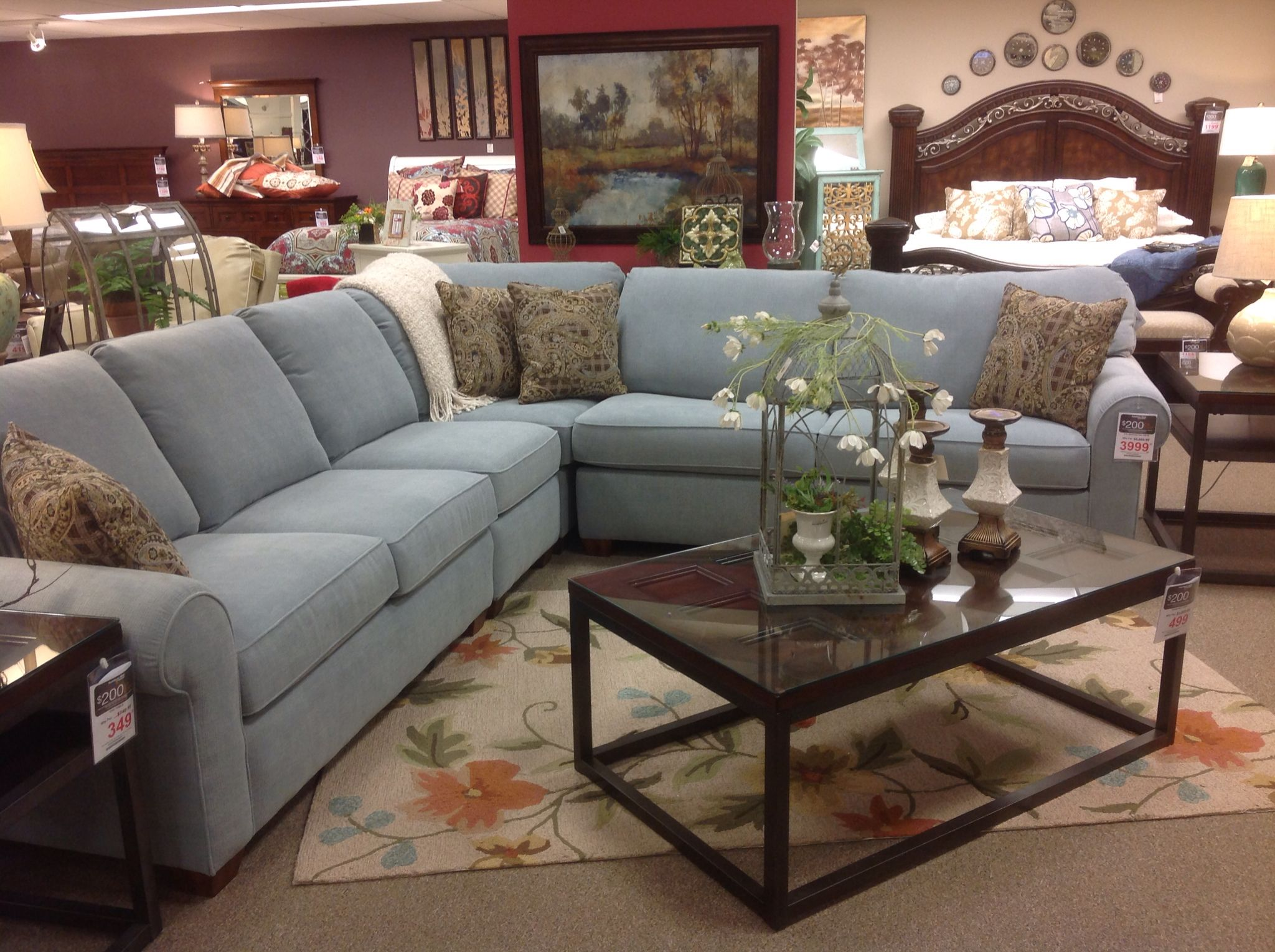 flexsteel sofa sets sofascore paris fc vs orleans s5535 sectional on showroom floor at
