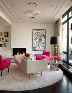 Pop of pink home styling     great jonathan adler fan also decor rh pinterest
