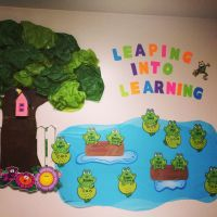"[[""leaping into learning""]] toddler classroom decorations ..."