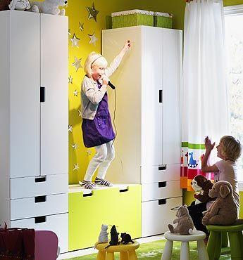 Muebles infantiles Stuva de Ikea  Storage benches