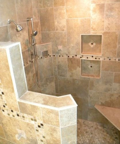 Bathroom Designs Open Showers