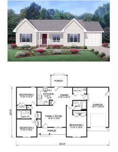 Find this pin and more on exclusive home plans also plan be simply simple one story bungalow rh nz pinterest